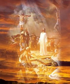 Three Days of Passion by Jesus & the the Resurrection