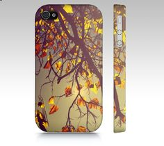 """One Fine Day"" Autumn leaves iPhone case by rachelburbeedesigns ...$37 later..."