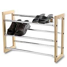 Another shoe rack. Metal and wood. Bed bath and beyond. $19.99