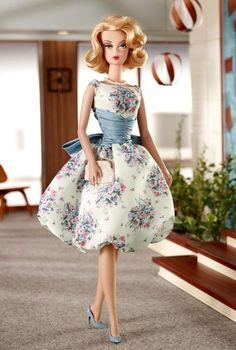 2010 Betty Draper | Barbie BFMC Mad Men Collection *SILKSTONE