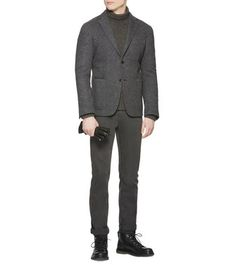 ERMENEGILDO ZEGNA: Formal Jacket Black - 39586936RD