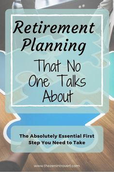 Retirement Planning That No One Talks About – The Zen Introvert - Financial Management Advice 2020 Retirement Savings Plan, Retirement Strategies, Preparing For Retirement, Retirement Advice, Investing For Retirement, Retirement Cards, Early Retirement, Retirement Parties, Retirement Planning