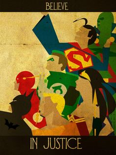 Kerrith Johnson Believe series: The Justice League