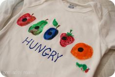 A Very Hungry Caterpillar Shower | One Artsy Mama