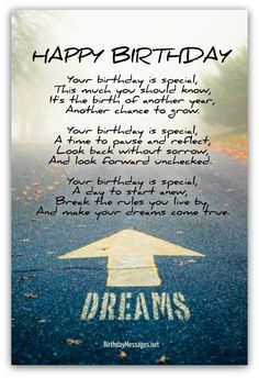 Inspirational Birthday Poems - Page 4 Poems Inspirational inspirational birthday wishes - Inspirational Quotes Happy 25th Birthday Quotes, Happy Birthday Wishes For A Friend, Brother Birthday Quotes, Birthday Wishes Messages, Birthday Blessings, Happy Birthday Son, Best Birthday Wishes, Happy Wishes, Free Birthday