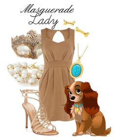 """""""Masquerade: Lady"""" by jivy44 ❤ liked on Polyvore featuring Masquerade, The Limited, Bailey 44, Gianvito Rossi and Emily Elizabeth Jewelry"""