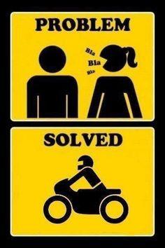 J'aime la moto :)