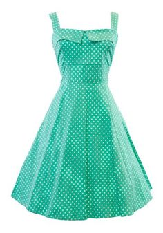 Robe pin up turquoise