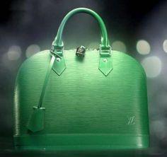 Louis Vuitton Handbags Celebrates Colors: Menthe