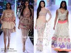 This color or off-white with colored mirror lace Indian Look, Indian Style, Kurta Patterns, Saree Gown, Resort 2015, Pakistani Outfits, Indian Fashion, Desi, Cover Up
