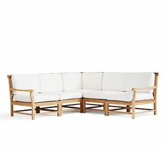Larkspur Teak Sectional