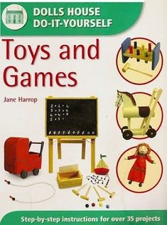 Free copy of book dolls house do it yourself finishing touches making mini toys solutioingenieria Image collections