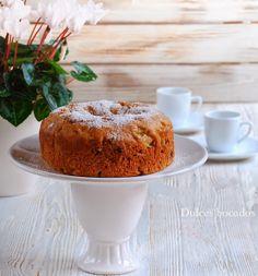 Bean apple cake - Bizcocho de judias o alubias con manzana