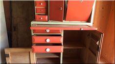 kredenc Corner Desk, Retro, Furniture, Home Decor, Corner Table, Decoration Home, Room Decor, Home Furnishings, Retro Illustration