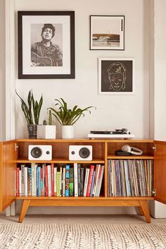 Shop Sawyer Storage Media Console at Urban Outfitters today. We carry all the latest styles, colors and brands for you to choose from right here. Vinyl Storage, Record Storage, Lp Storage, Media Storage, Urban Deco, Home Interior Design, Interior Decorating, Decorating Ideas, Urban Outfitters Home