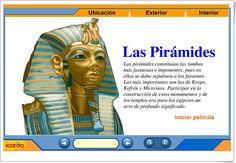 Las pirámides (Animación interactiva de icarito.cl)