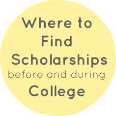 The Students' Lifestyle: Where to Find Scholarships Before and During College
