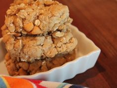 The BEST oatmeal cookies we've ever had were these salted butterscotch ones - you have to try them!