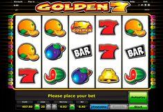 """Golden 7 Automaten Spiel von Novomatic ist kostenlos und ohne Anmeldung verfügbar! Lenke dich ab und habe Spass mit Novomatic Slot """"Golden 7"""""""