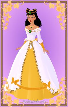 Pocahontas { Ball Gown } by kawaiibrit.deviantart.com on @deviantART