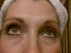 Left: 3D Primer Mascara Right: normal mascara www.youniqueproducts.com/jennagirl