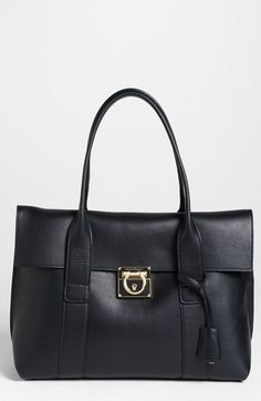 Salvatore Ferragamo 'Small Sookie' Leather Satchel available at #Nordstrom