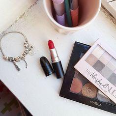 All fired up by @maccosmetics 💄💄..#ilblogdic #beauty #fashion #beautyblogger #blog #blogger #c #ontheroad #tb #tbt #scatti #mac #macjunkies #maccosmetics #fotd #lotd #pandora #nabla #scattirubati #makeupaddict #addict