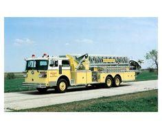 1978 ? Sutphen Fire Truck Photo Detroit ca1457