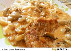 Bakoňské kotlety recept - TopRecepty.cz Macaroni And Cheese, Ethnic Recipes, Food, Red Peppers, Mac And Cheese, Essen, Meals, Yemek, Eten
