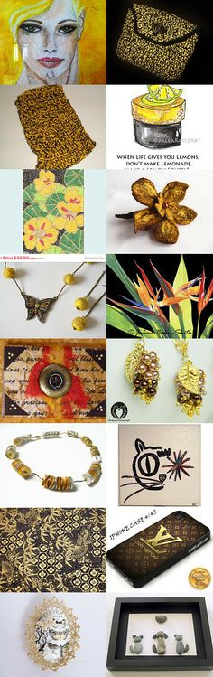 Black and friends by Ana Martín on Etsy--Pinned with TreasuryPin.com