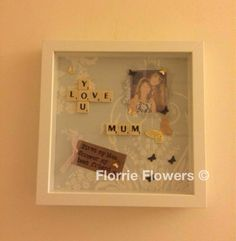 Scrabble personalised mothers day gift