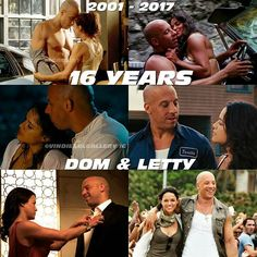 Dominic & Letty from 16 yr later Movie Memes, Movie Facts, I Movie, Fast And Furious Cast, Fate Of The Furious, Movie Couples, Cute Couples, Michael Rodriguez, Dom And Letty