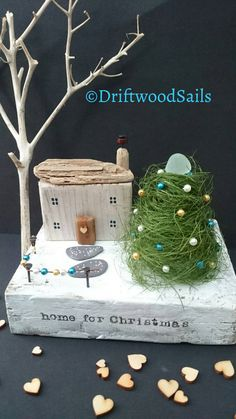 Check out this item in my Etsy shop https://www.etsy.com/uk/listing/482109820/handcrafted-christmas-driftwood-cottage