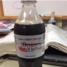 Omg! See what someone did to a 'Bruce' Diet Coke bottle - https://www.nollywoodfreaks.com/omg-see-what-someone-did-to-a-bruce-diet-coke-bottle/