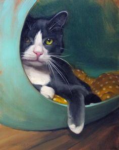 Diane Hoeptner Cat Portrait