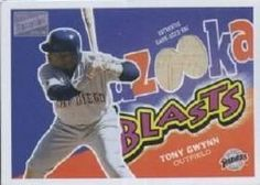 2003 Bazooka Blasts Relics #TG Tony Gwynn H by Bazooka. $8.40. 2003 Topps Co. trading card in near mint/mint condition, authenticated by Seller