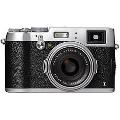 Fujifilm X100T Digital Camera (Silver Fuji X100T) B&H Photo