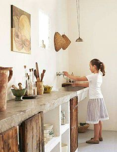 Supreme Kitchen Remodeling Choosing Your New Kitchen Countertops Ideas. Mind Blowing Kitchen Remodeling Choosing Your New Kitchen Countertops Ideas. Stylish Kitchen, New Kitchen, Kitchen Rustic, Kitchen Ideas, Rustic Kitchens, Awesome Kitchen, Rustic Buffet, Recycled Kitchen, Reclaimed Wood Kitchen