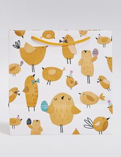 Buy the Chicks Medium Easter Gift Bag from Marks and Spencer's range. Easter Art, Hoppy Easter, Easter Crafts, Easter 2014, Easter Verses, Easter Scriptures, American Bobtail, Easter Gift Bags, Easter Candy
