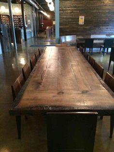 Reclaimed Wood Dining Tablekitchen Island Top By Freshrestorations