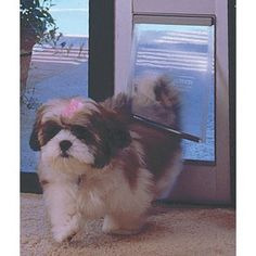 Ideal Pet Products 96 Fast Fit Aluminum Pet Patio Door Small 5 X 7 Flap Size