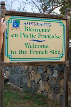 St. Martin ~ Hello ~ Bonjour
