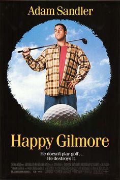 Happy Gilmore (1996).  Funny stuff!