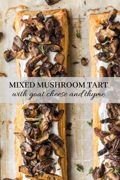 This decadent tart recipe highlights the season's best mushrooms on a flaky, creme fraiche and butter pastry. Serve it as an elegant appetizer this fall!