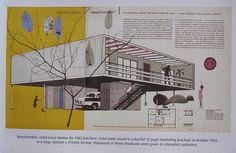 mid-century modern house design.  Repinned by Secret Design Studio, Melbourne. www.secretdesignstudio.com