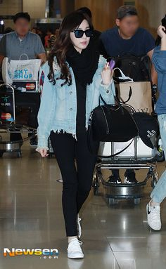 Wonderful Generation: SNSD's Tiffany is back from Hawaii!