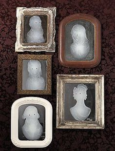Mirror Clings, Gothic Manor Framed Ghost