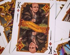 Princess Bride Playing Cards - You've scaled the cliffs of insanity; out-fenced a vengeful Spaniard, defeated a rock-wielding giant, outwitted a diminutive Sicilian, navigated the treacherous fire swamps, narrowly evaded a R.O.U.S. and had fun stormin' da castle. Now it's time to kick back with the Brute Squad and play some cards with a deck of The Princess Bride Playing Cards #princessbride