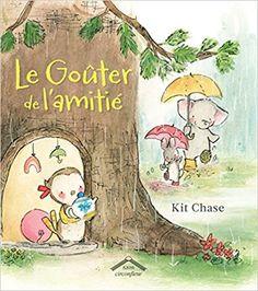 Le goûter de l'amitié, de Kit Chase, chez Circonflexe * « Il pleut, Lulu s'ennuie, elle décide d'organiser un goûter… mais juste avec ses poupées c'est un peu triste.  Elle appelle alors ses amis Oliver et Charlie. Jolie déco, chocolat chaud… Mais voilà que le chocolat est imbuvable. Lulu est déçue, mais ses amis vont trouver la parade ! »