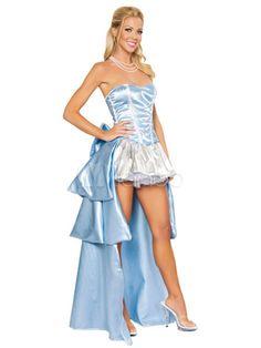 Bella Durmiente Halloween Disfraz Celeste Cuentos de Hadas Princesa Disfraz Cosplay - Milanoo.com